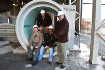Rocla delivers Paarl Waste Water Project