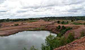 New pipes turn old quarry into upmarket  retirement estate