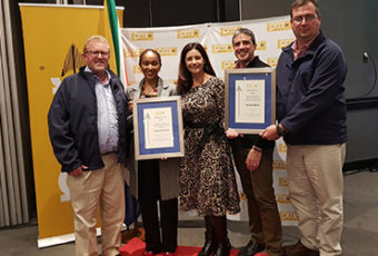 Rocla and Ocon Brick shine at 2018 PMR Africa Business Excellence Awards