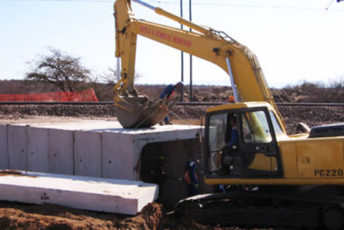 Rocla supplies SAR culverts for Sishen South Railway