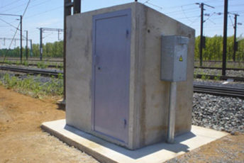 Rocla Concrete Signal Houses Protect Transnet Signalling Equipment