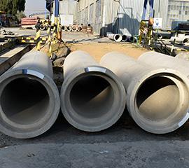 Calcium Alluminate Cement Pipes