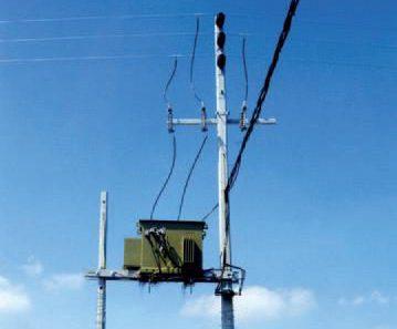Cast poles