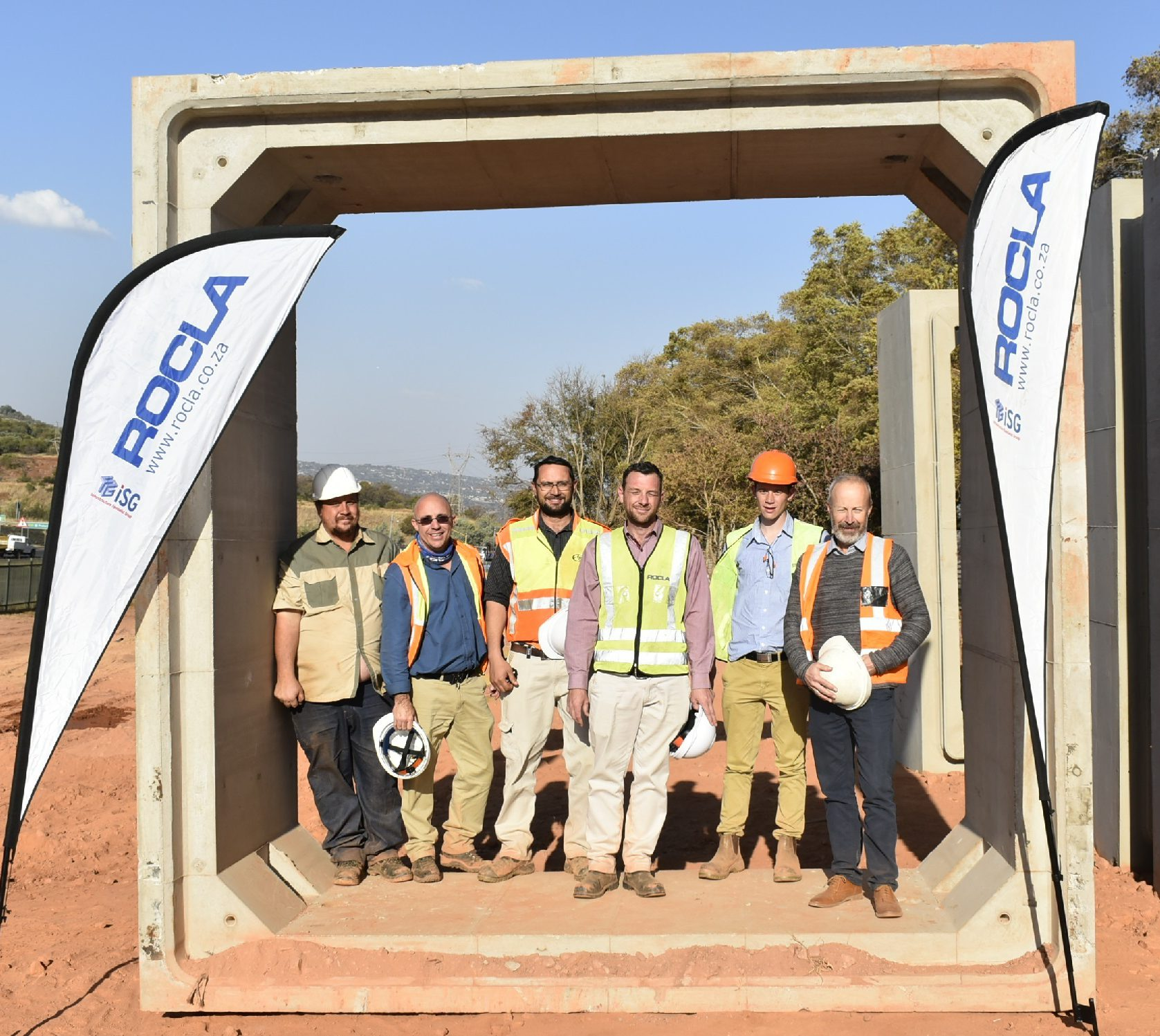 ROCLA MANUFACTURES LARGEST CUSTOM DESIGNED JACKING CULVERTS IN SOUTH AFRICA