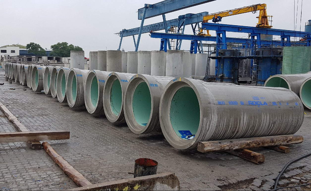 ROCLA SUPPLIES 19KM'S OF HDPE PIPES FOR POLOKWANE WATER TREATMENT PLANT